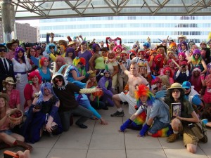 Brony Con: Admittedly, I wouldn't mind playing dress-up once and awhile either.