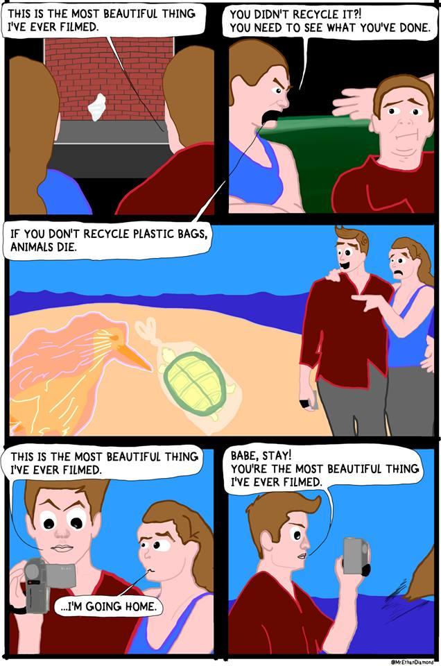 Comic by Ethan Diamond