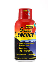 5 Hour Energy: At least it's not cocaine. (via www.prnewsonline.com)