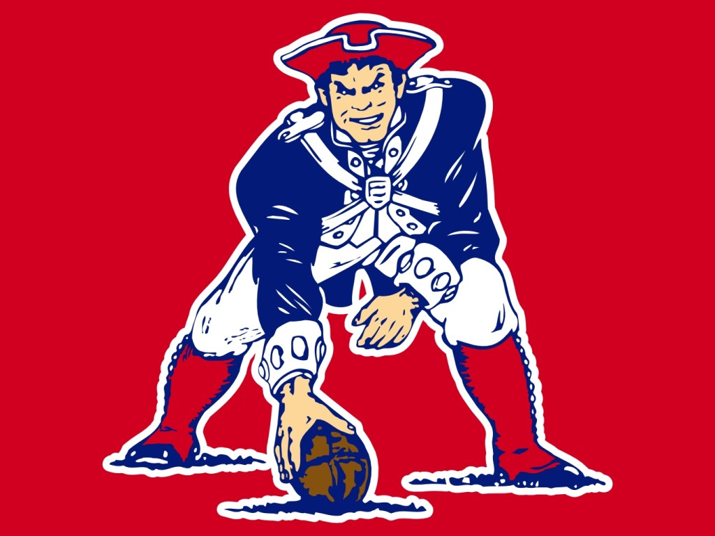 Much like the Patriots old logo. (sports-logos-screensavers.com)
