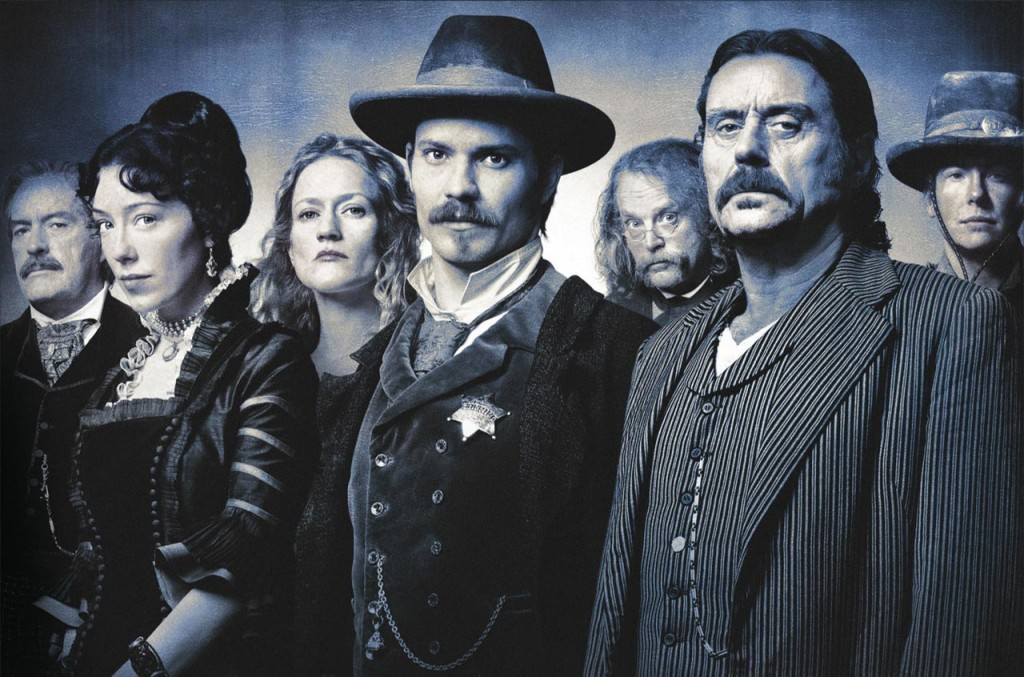 The cast of Deadwood is not amused. (dailymars.net)