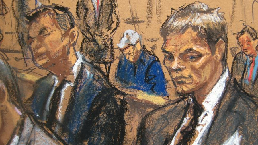 Also according to this courtroom illustrator, Tom Brady is actually a zombie Ken doll in an anime cartoon. (alittlefu.wordpress.com)