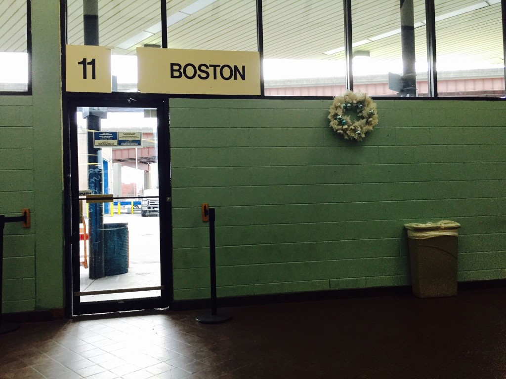 The terrible beauty of the Albany bus station.