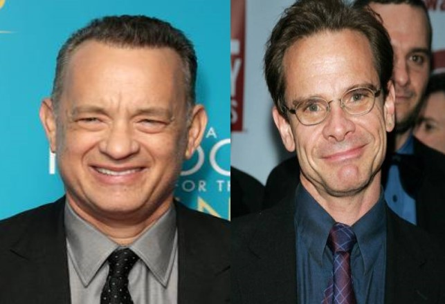 Tom Hanks and Peter Scolari