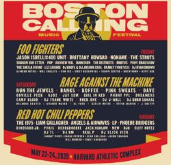 Boston Calling Poster